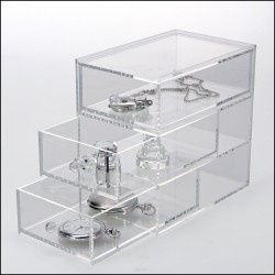 "Element de rangement en ""Plexiglass"""