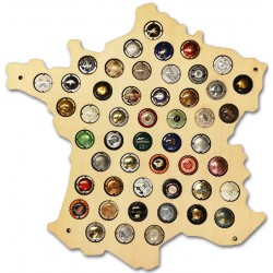 Album PRESSO pour 64 plaques de muselet de Champagne