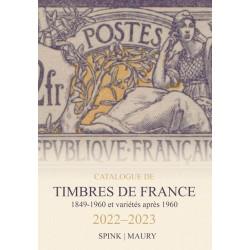 Catalogue de cotaton Spink - Maury France 2022 - Timbres de France