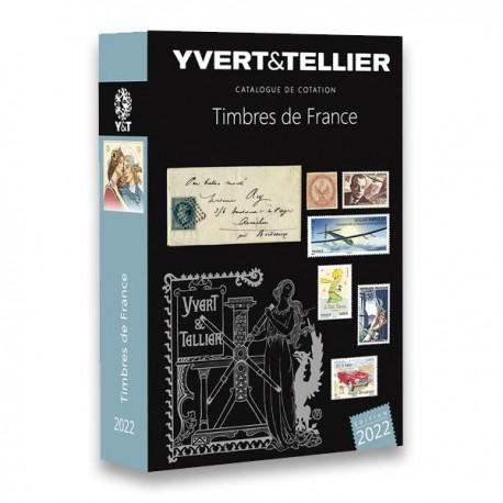 Catalogue Timbres de France - 2022  YVERT ET TELLIER