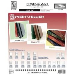 Jeu SC France 2021 Auto adhésifs 1er semestre -YVERT ET TELLIER