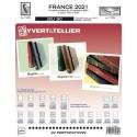 Jeu SC France 2021 Auto adhésifs 1er semestre  - YVERT ET TELLIER