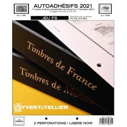 Jeu France FS 2021 1er semestre - Auto adhésifs...