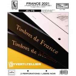 Jeu France FS 2021 1er semestre YVERT ET TELLIER
