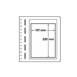 Feuilles LB en papier cartonné 1 petite poche