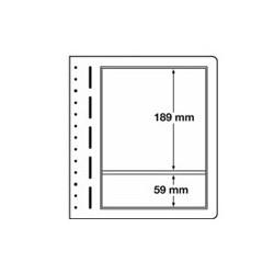 Feuilles LB en papier cartonné 2 poches mix