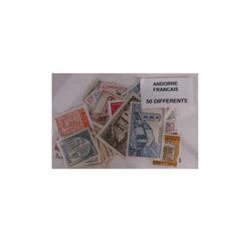 50 timbres Andore français