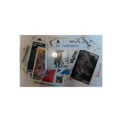 50 timbres de tanzanie