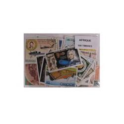 100 timbres d'Afrique