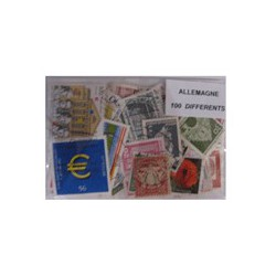 100  timbres d'Allemagne
