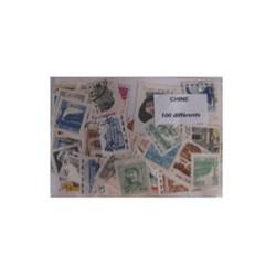 100 timbres de Chine