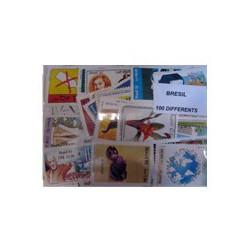 100 timbres du Bresil