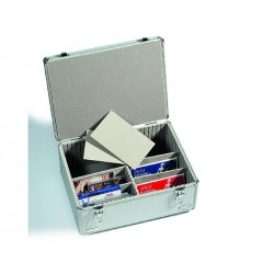 Valisette pour cartes postales ou séries de pièces, grand modèle