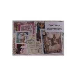 50 timbres de chateaux