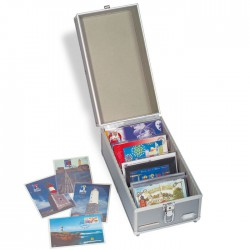 Valisette pour cartes postales ou séries de pièces, petit modèle