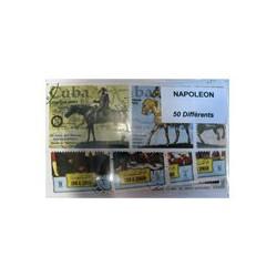 50 timbres de Napoléon