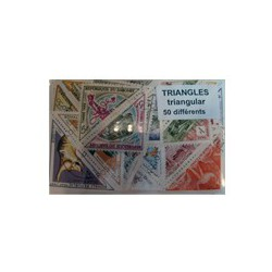 50 timbres triangulaires