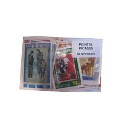 50 timbres de Picasso
