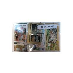 50 timbres sur la médecine