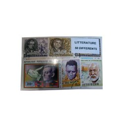 50 timbres de litterature