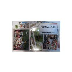 50 timbres de footballeurs