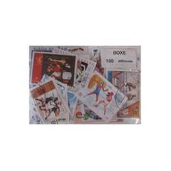 100  timbres de boxe