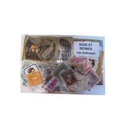 100 timbres de Rois et reines