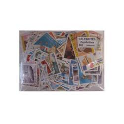 500 timbres de célébrités