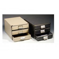 DURA boîte 3 tiroirs DIN A4
