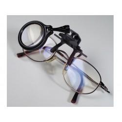 Loupe-clip pour les montures à lunettes 5 x LEUCHTTURM