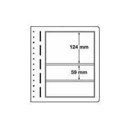 Feuilles LB en papier cartonné 3 poches mix