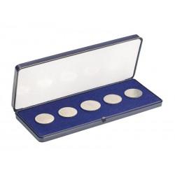 Ecrin numismatique en plastique dur