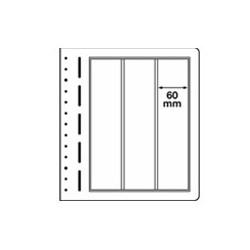 Feuilles LB en papier cartonné 3 poches verticales