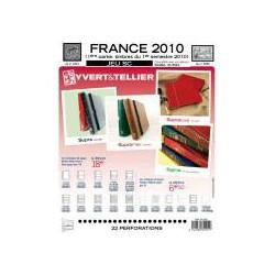 Jeu SC France 2010-1er semestre SC YVERT ET TELLIER