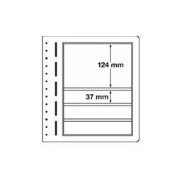 Feuilles LB en papier cartonné 4 bandes mix