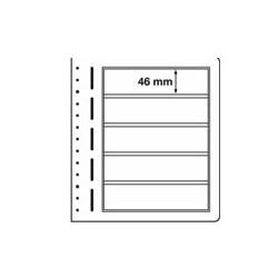 Feuilles LB en papier cartonné 5 bandes