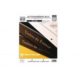 Jeu France FS 2010-Auto adhésifs 2ème semestre YVERT ET TELLIER