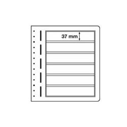 Feuilles LB en papier cartonné 6 bandes