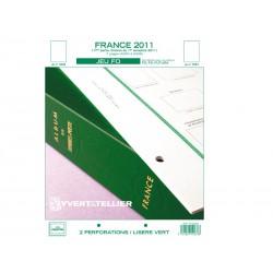 Jeu France FO 2011-1er semestre YVERT ET TELLIER