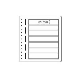 Feuilles LB en papier cartonné 7 bandes