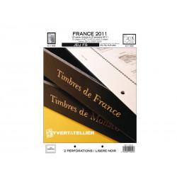 Jeu France FS 2011-2ème semestre YVERT ET TELLIER