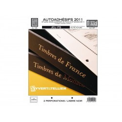 Jeu France FS 2011 2ème semestre-Auto adhésifs YVERT ET TELLIER