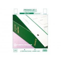 Jeu France FO 2011-2ème semestre YVERT ET TELLIER
