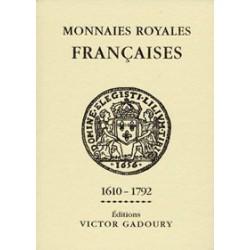 Gadoury - Monnaies royales / édition 2012