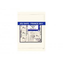 Feuilles France Timbres Autocollants 2011