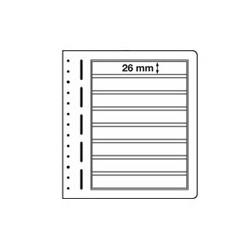 Feuilles LB en papier cartonné 8 bandes