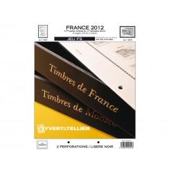 Jeu France FS 2012-1er semestre YVERT ET TELLIER