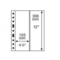 Pochettes plastiques GRANDE, avec 2 Bandes verticales