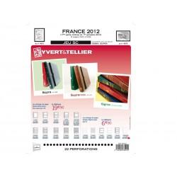 Jeu France 2012 -1er semestre SC YVERT ET TELLIER