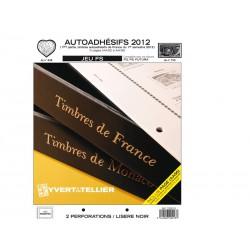 Jeu France FS 2012 1er semestre -Auto adhésifs YVERT ET TELLIER